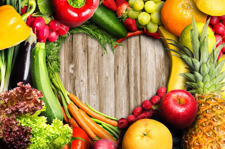 Balanced Diet of Fruits And Veggies For Healthy Juicing
